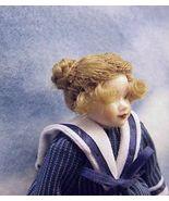 Dollhouse Sailor Girl Dressed HC05 Heidi Ott blue/wh stripe Miniature - $77.40
