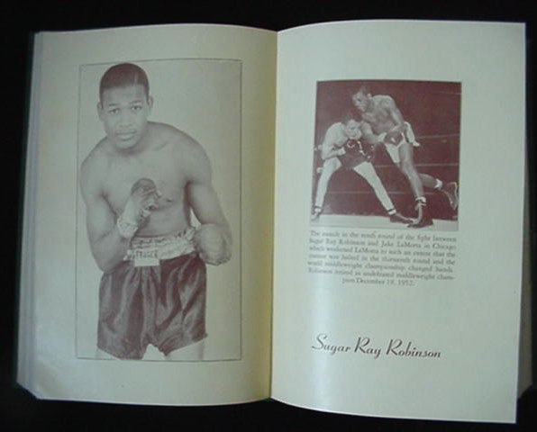 Nat Fleischer's The Ring 1953 Edition Boxing Record Book