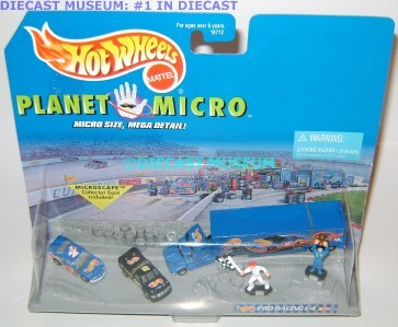 PLANET MICRO PRO RACING NASCAR HOT WHEELS DIECAST RARE