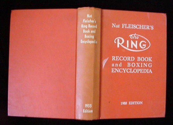 Nat Fleischer's The Ring 1955 Edition Boxing Record Book
