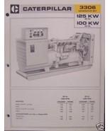 1974 Caterpillar 3306 Diesel Generator Sets Brochure - $6.00