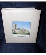 "Traditional WeddingPhoto Album 13"" x 12"" Book-bound  White Satin Persona... - $51.32"