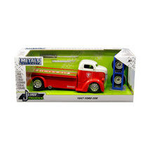 1947 Ford COE Tow Truck Red with White Top Firestone and Extra Wheels Ju... - $36.91
