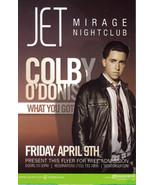 COLBY O'DONIS Birthday Celebration @ JET MIRAGE Las Vegas Promo Card - $1.95