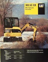 2007 Caterpillar 303.5C Mini Trackhoe Brochure - $9.00