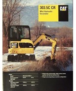 2007 Caterpillar 303.5C Mini Trackhoe Brochure - $9.00