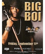 Big Boi Vegas Promo Card - $1.95