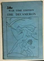 THE DECAMERON OF BOCCACCIO (circa 1940's) Fireside Publications booklet ... - $12.86