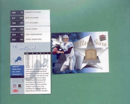 2006 Fleer Ultra Detroit Lions Football Team Set - $2.00