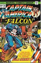 Captain America Comic Book #196, Marvel Comics 1976 VERY FINE/NEAR MINT - $14.98