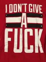 Like Moths To Flames I Don't Give A F*ck Mens Medium M T Shirt Metalcore... - $18.50