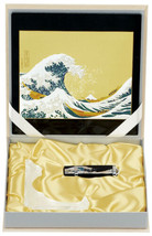 Maki-e Urushi Japanese Stationary set Wave Mouse pad USB Drive Frame Japan - $156.73