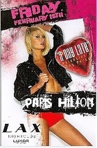 Paris Hilton Valentine's Day Party @ LAX Nightclub Luxor Hotel Vegas Pro... - $4.95