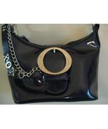 XOXO Dark Navy Blue Paten bag (NEW) - $11.00