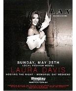 Laura Davis Hosting The Night Vegas Promo Card - $1.95