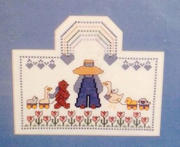 Bucilla Lullaby Baby Collection Little Boy N' Pals Counted Cross Stitch ... - $9.89