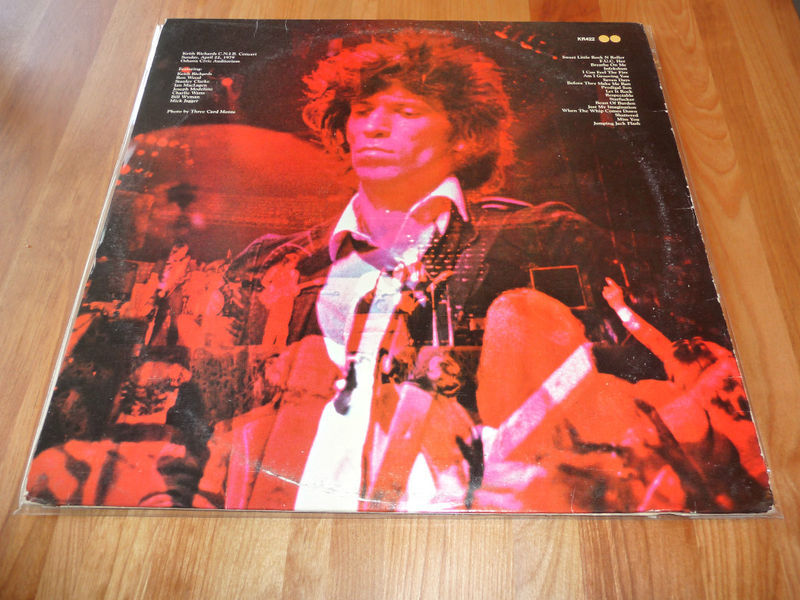 The Rolling Stones Blind Date Lp New Barbarians Live 1979 Keith Richards Vintage