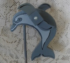 Whirligig Gray Dolphin - $35.00