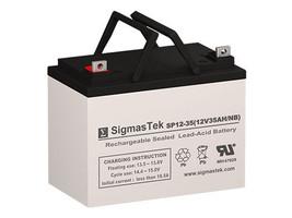 Sunrise Medical Hoyer Lifter AGM / GEL U1 Battery Replacement by SigmasTek - $79.99