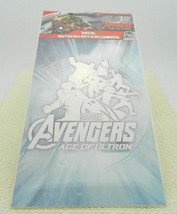 Marvel Comics Avengers Age of Ultron Window Wall White Decal May 2015 Loot Crate - $7.92