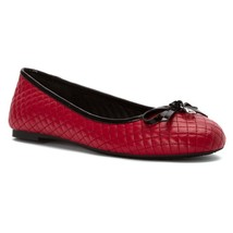 Women MICHAEL Michael Kors Melody Quilted Ballet, Sizes 6.5-11 Red Leath... - $99.95
