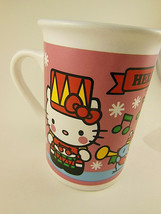 Hello Kitty Christmas Mug Cup Sanrio Japan 2013 - $8.90
