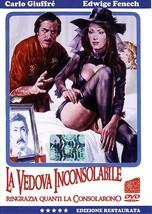 LA VEDOVA INCONSOLABILE - The Winsome Widow - Edwige Fenech,ENG. SUBT AL... - $19.00