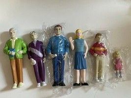 """Dollhouse family figures 5"""" some new girl boy teenager Grandparents Dad lot - $19.75"""