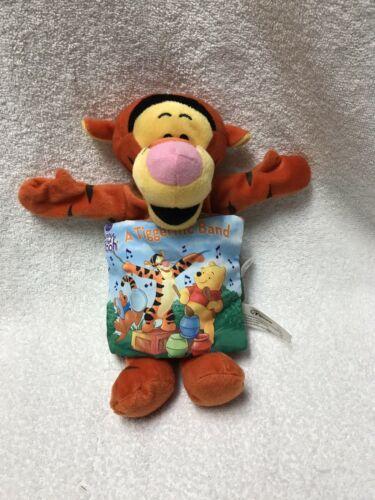 Disney Winnie The Pooh Tigger The Storybook Pillow Plush Book