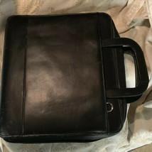 Franklin Monarch Zipper Binder With Handles 41509 12x14x2 black 3 ring - $25.83