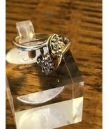 14k Yellow Gold Diamond Fashion Ring 3.6g Size 6.25 - $332.49