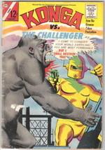 Konga Movie Comic Book #21, Charlton 1965 VERY GOOD - $14.49
