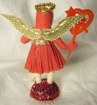 Vintage Inspired Spun Cotton Valentine Angel no. 140 image 2