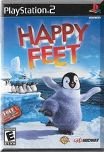 PS2 - Happy Feet (2006) *Brand New & Sealed / Based On Movie Of Same Name* - $10.00