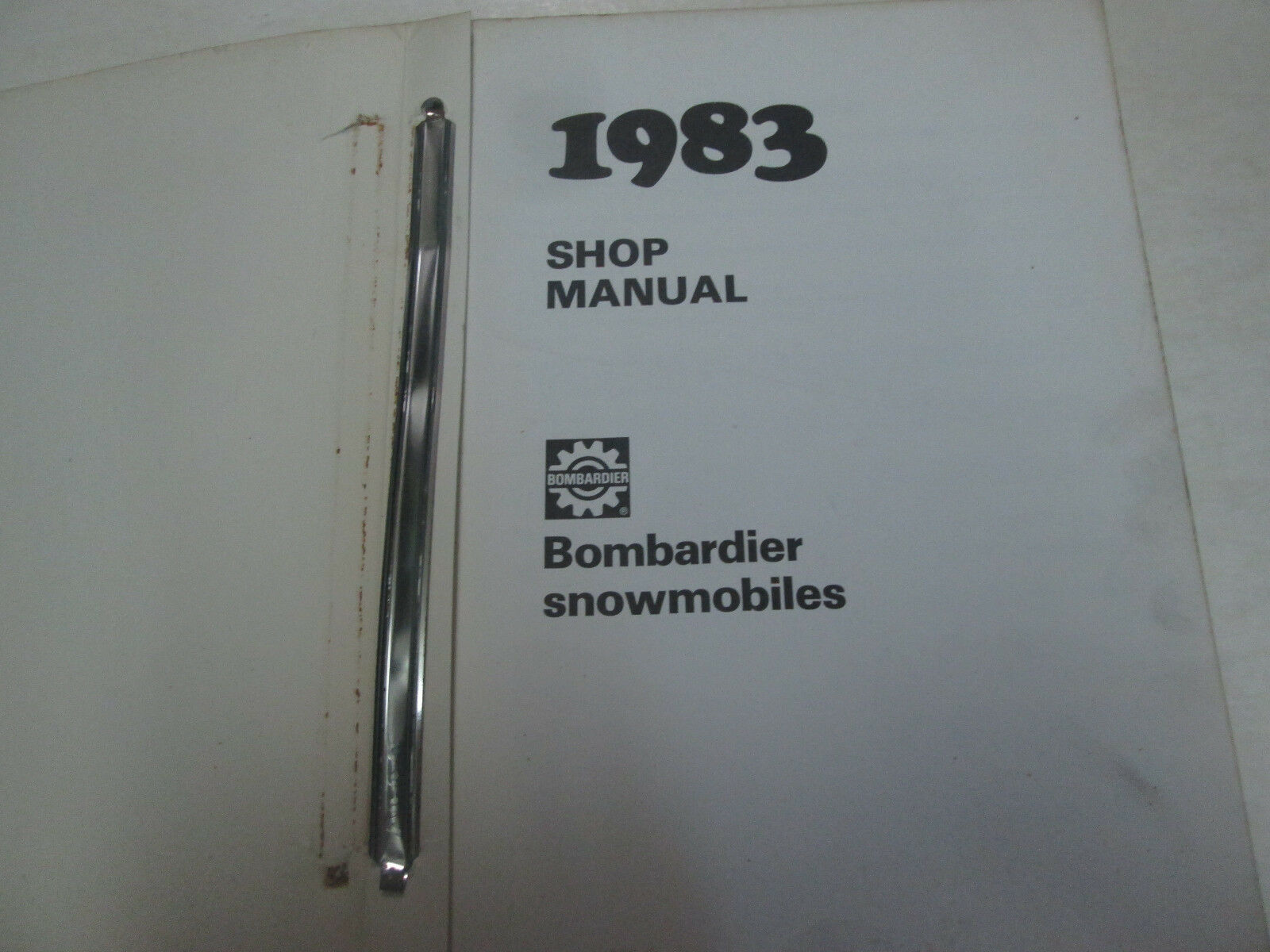 1983 Bombardier Schneemobil Service Reparatur Shop Manuell Fabrik OEM Buch Used