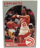 1990 NBA Properties NBA Hoops Atlanta Hawks John Battle Guard  - $1.53