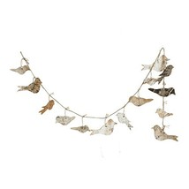 Creative Co-op Bird Shaped Birch Bark Garland - $19.62