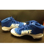 New 2017 Nike Force Air Trout 4 Pro size 13 royal blue baseball shoes cl... - $24.95