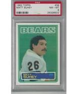 1983 Topps #39 Matt Suhey PSA 8 NM-MT Bears DP - $19.75