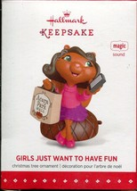 2015 Hallmark Keepsake Christmas Tree Ornament of Girls Just Want to Hav... - $2.47