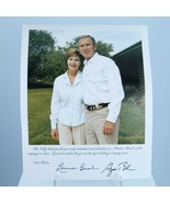 Air Force One Pilot Owned George/Laura Bush Presidential Photo/Autograph... - $369.33