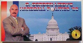 NIB NEW G. Gordon Liddy's Hardball Politics '96 Playcare Board Election ... - $13.95