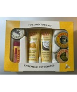 Burt's Bees Tips and Toes Kit 6 Pieces for Hands, Feet (and a lip balm) - $7.43