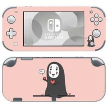 Nintendo Switch Lite Console Skin Decals Sticker Vinyl No Face Man Spirited Away - $9.70