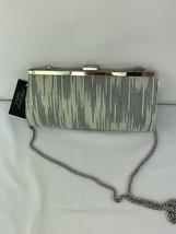 Adrianna Papell Storm Grey Evening Clutch - $12.74