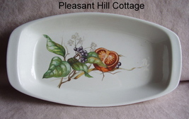 Villeroy & Boch Serving Dish Tomato & Blueberry Decal - $5.95