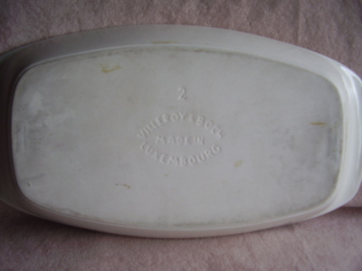 Villeroy & Boch Serving Dish Tomato & Blueberry Decal
