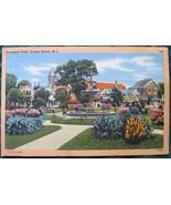 Tichnor Bros, Yellow (white) Border, linen post card, Founde - $6.00