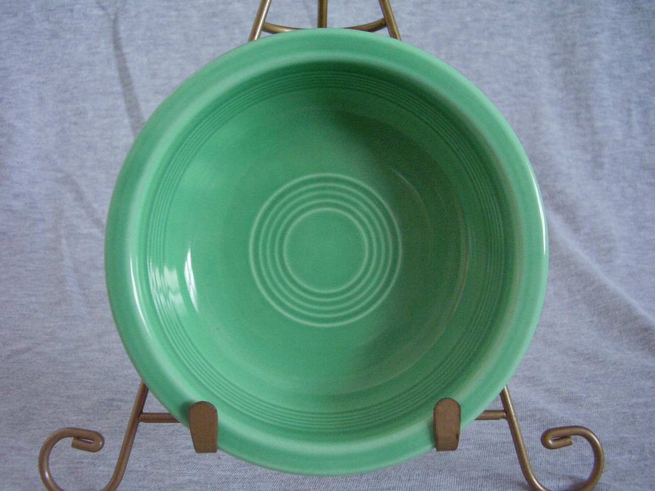 Vintage Fiestaware Original Green Fruit Bowl Fiesta  A