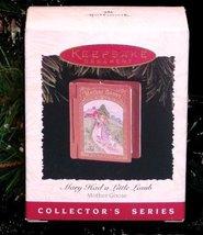 "Hallmark 1996 ""Mary Had a Little Lamb"" Ornament in Box - $7.95"